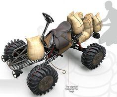 Edgar Сармьенто Arriero сельско-перевозки DesignBoom транспортное средство