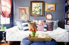 7 Stylish Ways to Use Pattern at Home via @mydomaine