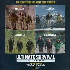 ULTIMATE SURVIVAL ALASKA is returning to National Geographic Channel for Season Three of one of the toughest competitions in the world.  Fans of the show can c