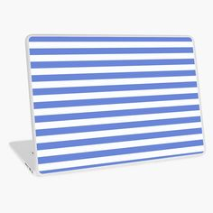 'Light blue marine stripes pattern' Laptop Skin by cool-shirts Samsung Galaxy Cases, Iphone Cases, Rick And Morty Season, Laptop Skin, Sell Your Art, Floor Pillows, Cool Shirts, Notebooks, Chiffon Tops