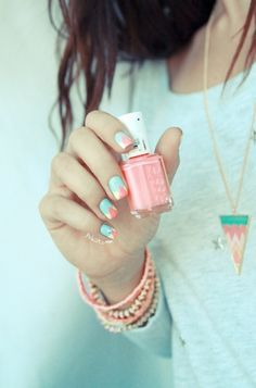 Perfectly pastel.