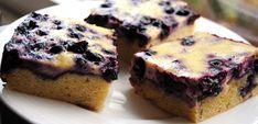 ChocoLanas matblogg: Blåbærkake med rømmefyll