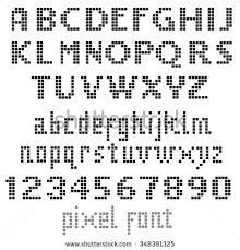 Pixel Alphabet Lowercase Lower Case Letters Pixel Font For Use In Minecraft  | Games And Gunk | Pinterest | Online Images, Cross Stitch And Stitch