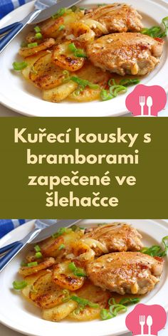 Cooking Tips, Cooking Recipes, Healthy Recipes, Czech Recipes, Other Recipes, Food To Make, Chicken Recipes, Good Food, Easy Meals