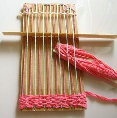 *ダンボール織り* : アトリエひなぎく 手織り日記 もっと見る