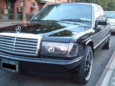 Mercedes Benz 190E left side