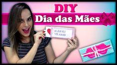 DIY: CARTÃO MÁGICO + CHOCOLATE DO AMOR - ESPECIAL DIA DAS MÃES ❤