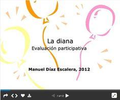Evaluación participativa: la diana by Manuel Diaz via slideshare Evaluation, Best Teacher, Assessment, Diana, Montessori, Organization, Teaching, Education, Google