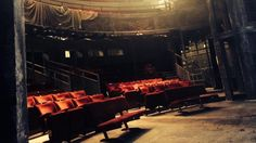 """""""Can you guess where we are today? #CalmBeforeTheShoot """" https://twitter.com/digitaltheatre/status/509302978126180353"""