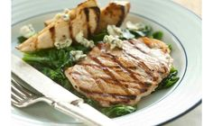 Tangy Grilled Pork Chops with Pears and Blue Cheese | Recipe | The Daily Meal