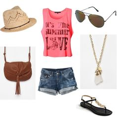 Hot weather outfit