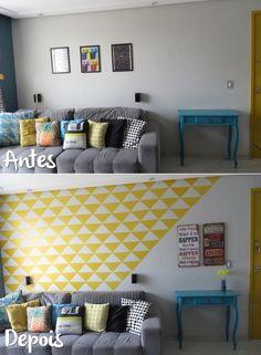 13 ideias simples e baratas para dar aquela renovada na sua casa