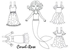 Paper Dolls by The Serendipity Sisters: Paper dolls