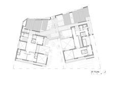 Image 28 of 31 from gallery of Fortress Brick House / Wise Architecture. Korean Letters, Architecture Photo, Being A Landlord, Brick, Floor Plans, Lettering, How To Plan, Gallery, House