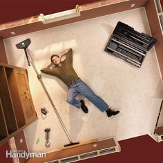 <p>tired up lumpy, loose carpeting? you can restretch your old carpeting in less than a day.  in fact you can fit, trim and restretch a new carpet in a modest size room yourself. with a few special rented tools and the coaching in this article, you can do a great job even if it