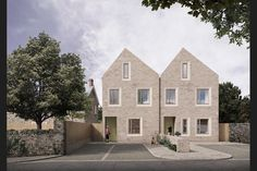 Archio wins planning for Somerset housing scheme Architecture Awards, Residential Architecture, Architecture Design, Temple Gardens, Mews House, Social Housing, Affordable Housing, Townhouse, New Homes