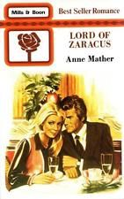 Lord of Zaracus - Anne Mather - Mills & Boon - Good - Paperback