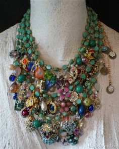 Kay Adams L2487 I suddenly see a use for my inherited costume jewelry.