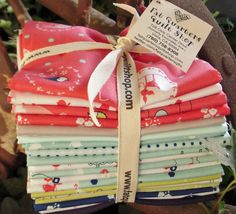 The fat quarter bundles are ready of the NEW fun and fanciful fabric from Riley Blake Designs! Created by Cinderberry Stitches' Natalie Lymar... the collection is 'Enchant '...