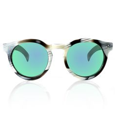 Leonard II Horn with Green Mirrored Lenses | I realllllly want these