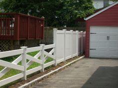 Vinyl Fence Installation in North NJ