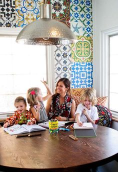 Kristy's Tropical Tudor House Tour via Apartment Therapy - LOVE this house!