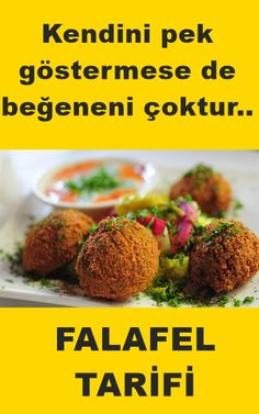 Falafel Tarifi - Videolu Tarif - World Food & Recipes Athlete Nutrition, Diet And Nutrition, Good Food, Yummy Food, Homemade Beauty Products, Potato Recipes, Health Fitness, Tasty, Salad
