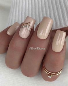 Mar 15 2020 33 Trendy Natural Short Square Nails Design For Spring Nails 2020 Latest Fashion Trends For Woman 33 Elegant Nails, Classy Nails, Stylish Nails, Trendy Nails, Square Nail Designs, Pretty Nail Designs, Nail Art Designs, Pretty Nail Art, Nails Design