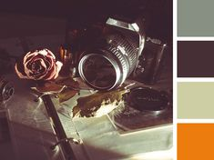 Color Combinations PowerPoint - Vintage