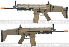 FN Herstal Full Metal SCAR Light STD Airsoft AEG Rifle by VFC - Dark Earth