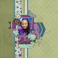 Layout by CT Judith using the Love My Life Kit by Luv Ewe Designs Digital Scrapbooking