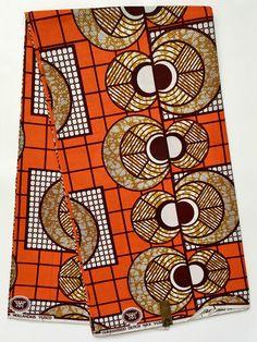 A personal favorite from my Etsy shop https://www.etsy.com/listing/497161249/african-fabric-dutch-wax-ankara-orange