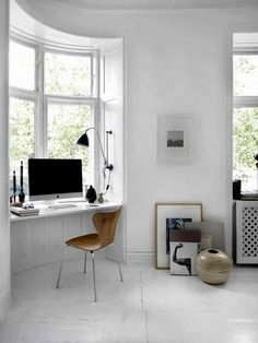 Beautiful Monochrome and Wood Apartment