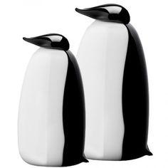 Penguins, by Oiva Toikka for Iittala
