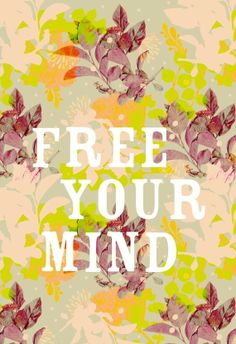 Free your mind, let go all your worries, and #relax!