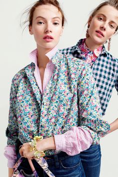 376fee618ff J. Crew s New Gingham Shop Is the Stuff of All Our Spring Fantasies