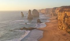 Just the obligatory 12 Apostles photo.  #12apostles #notactually12 #greatoceanroad #roadtrip #sunset #portcampbell #straya #visitvictoria #rockformation #ocean #cliff #photography by billykilbride
