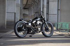 Bobber, Chopper, Night Skies, Eagle, Motorcycle, Japan, Street, Vehicles, Shovel