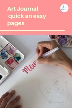 ¿Quieres aprender a hacer art journal? Acá te mostramos 3 procesos distintos para una página con sentido: Todas unidas contra el cancer de seno