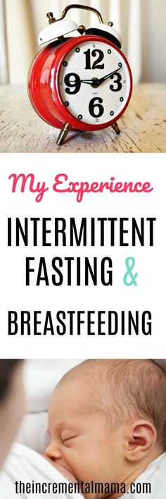 intermittent fasting and breastfeeding