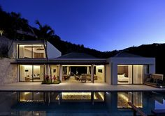 Villa Artepea St Barts. The gorgeous Villa Artepea sits in the hills of the Lurin area of St. Barts and offers up a remarkably contemporary space to enjoy a holiday. With many open to the scenery spaces, it provides four luxurious bedrooms and a truly remarkable array of amenities. It is a contemporary design that blends a distinctly Mid-Century Modern feel with island style.  Enjoy the delicious views and the sea breezes coming in from St. Jean bay as you recline on your private sun deck…