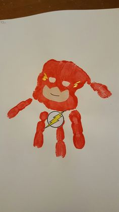 superhero craft ideas for preschoolers handprints every is a daxton 7214