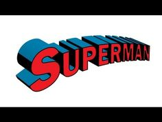 How to create Superman text Tutorial using Illustrator - YouTube