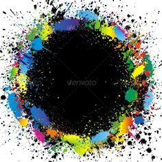 Realistic Graphic DOWNLOAD (.ai, .psd) :: http://jquery.re/pinterest-itmid-1000064253i.html ... Color paint splashes border. Vector background ...  background, black, blank, blue, business, card, commerce, green, red, splash, splat, splotch, spray, stain, yellow  ... Realistic Photo Graphic Print Obejct Business Web Elements Illustration Design Templates ... DOWNLOAD :: http://jquery.re/pinterest-itmid-1000064253i.html