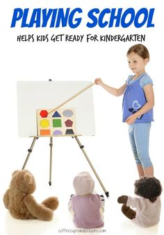 How Playing School Helps Kids Develop the Social and Emotional Skills Needed for Kindergarten!