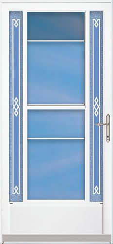 Northern 2 Lite Midview Storm Door By Aluminart Windows