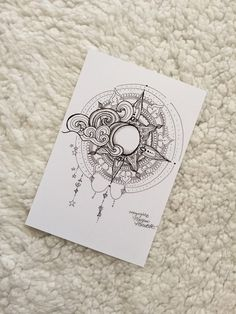 Artwork Print - Sun and Moon Tattoo/Artwork Drawing Design Sun and Moon Print Trendy Tattoos, Cute Tattoos, Body Art Tattoos, Sleeve Tattoos, Symbol Tattoos, Art Drawings Sketches, Tattoo Drawings, Art Soleil, Moon Tattoo Designs
