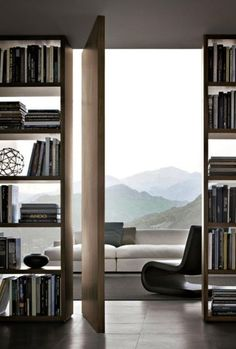 Home Interior Art 44 Awesome Open Shelving Bookshelves Ideas To Decorating Your Room.Home Interior Art 44 Awesome Open Shelving Bookshelves Ideas To Decorating Your Room Unpainted Furniture, Interior Doors For Sale, Pivot Doors, Entry Doors, Decorate Your Room, Luxury Interior Design, Modern Interior, Open Shelving, Interior Design Living Room