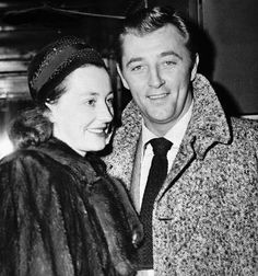Robert Mitchum and his wife, Dorothy Spence. Married 15 March 1940 - 1 July 1997 (his death) (3 children) .