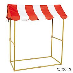 Big Top Tabletop Tent - for prize table / boothes